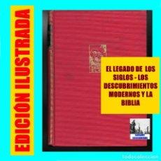 Libros de segunda mano: EL LEGADO DE LOS SIGLOS - LOS DESCUBRIMIENTOS MODERNOS Y LA BIBLIA - JUAN RINALDI - EDICIONES ELER. Lote 87276736