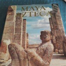 Libros de segunda mano: CIVILIZACIONES. MAYA AZTECA. MONDADORI. 1992. LIBRO.. Lote 89966679
