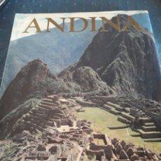 Libros de segunda mano: CIVILIZACIONES ANDINA. MONDADORI. 1992. LIBRO.. Lote 89989223