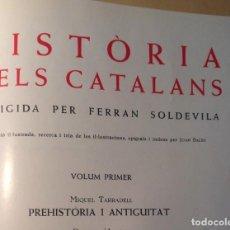 Libros de segunda mano: HISTÒRIA DELS CATALANS, FERRAN SOLDEVILLA. Lote 91958970