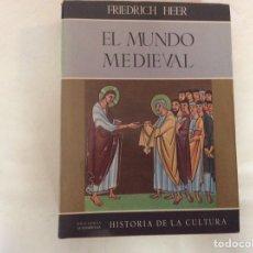 Libros de segunda mano: EL MUNDO MEDIEVAL / FRIEDRICH HEER -ED. GUADARRAMA 1962. Lote 187122855