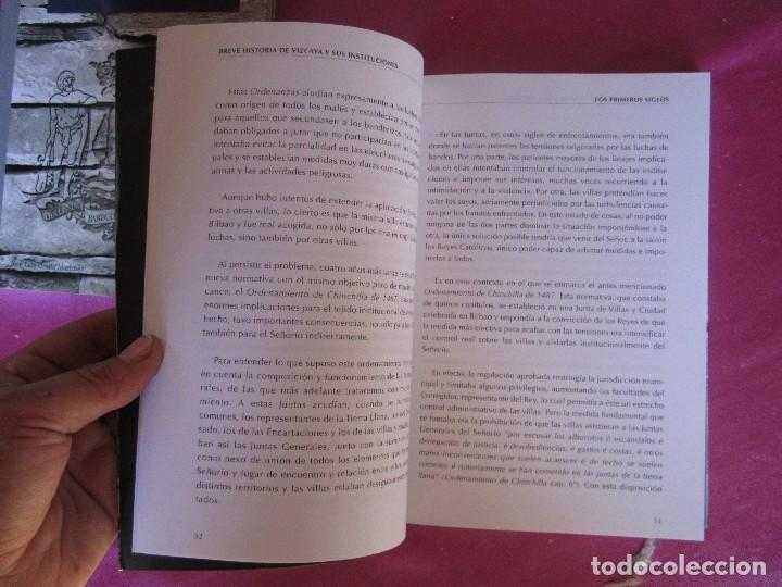Libros de segunda mano: BREVE HISTORIA DE VIZCAYA Y SUS INSTITUCIONES ASCENSION PASTOR COMO NUEVO - Foto 3 - 94444538