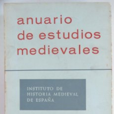 Libros de segunda mano: ANUARIO DE ESTUDIOS MEDIEVALES VOL. 2. Lote 95952435