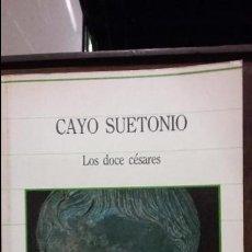 Libros de segunda mano: CAYO SUETONIO. LOS DOCE CESARES. SARPE. Lote 97055139