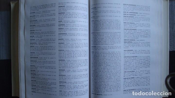 Libros de segunda mano: DICCIONARIO HERALDICO Y NOBILIARIO DE LOS REINOS DE ESPAÑA. - Fernando GONZALEZ-DORIA - Foto 6 - 97306939