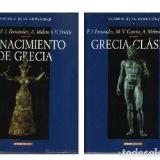 Libros de segunda mano: HISTORIA DE LA HUMANIDAD - EL NACIMIENTO DE GRECIA Y GRECIA CLASICA - VOLUMENES 7 Y 8 - NUEVOS . Lote 97506127