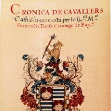 Libros de segunda mano: HERALDICA,ESCUDOS NOBLES CATALUÑA,2 TOMOS,CRONICA DE CABALLEROS CATALANES,AÑO 1603,SOLO 100 FACSIMIL. Lote 97517819