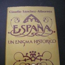 Libros de segunda mano: ESPAÑA, UN ENIGMA HISTORICO.- CLAUDIO SANCHEZ-ALBORNOZ.- TOMO 2. - EDHASA. Lote 98634943