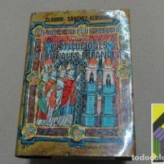 Gebrauchte Bücher - SANCHEZ ALBORNOZ, Claudio: Nuevos y viejos estudios sobre las instituciones medievales... - 98933263