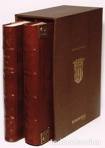 ELS FURS DE LA CIUTAT E REGNE DE VALENCIA.(FACSIMIL) (Libros de Segunda Mano - Historia Antigua)