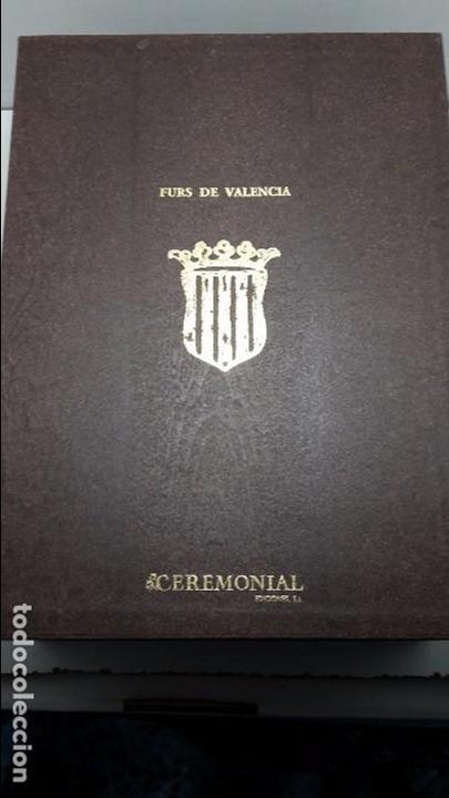 Libros de segunda mano: Els Furs de la ciutat e Regne de Valencia.(FACSIMIL) - Foto 6 - 105672706
