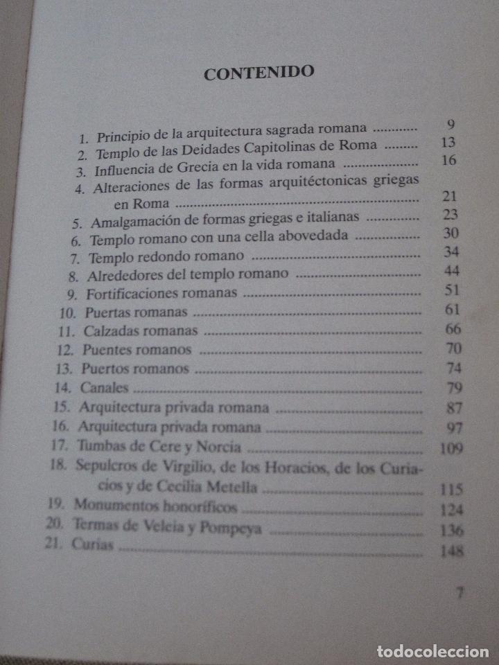 Libros de segunda mano: LOS ROMANOS SU VIDA Y COSTUMBRES. - Foto 2 - 99349951