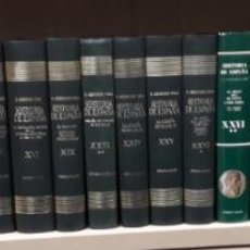 Libros de segunda mano: HISTORIA DE ESPAÑA MENENDEZ PIDAL TOMOS SUELTOS. Lote 100064727