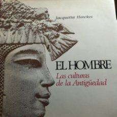 Libros de segunda mano: AGUILAR EL HOMBRE LAS CULTURAS DE LA ANTIGÜEDAD. Lote 101033014