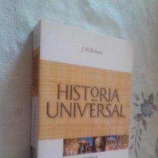 Libros de segunda mano: HISTORIA UNIVERSAL 1. DE LOS ORIGENES A LAS INVASIONES BARBARAS. J.M. ROBERTS. RBA. BUEN ESTADO. Lote 101069807