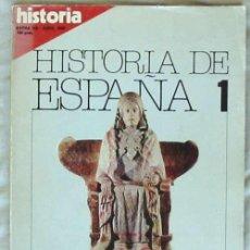 LA ESPAÑA ANTIGUA - DE ALTAMIRA A SAGUNTO - HISTORIA DE ESPAÑA Nº 1 - VER DESCRIPCIÓN E ÍNDICE