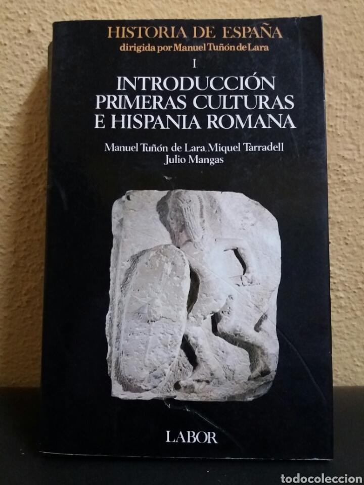 INTRODUCCION PRIMERAS CULTURAS DE HISPANIA ROMANA (Libros de Segunda Mano - Historia Antigua)