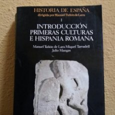Libros de segunda mano: INTRODUCCION PRIMERAS CULTURAS DE HISPANIA ROMANA. Lote 101325383