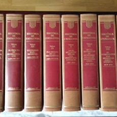 Libros de segunda mano: HISTORIA DE CATALUNYA. DIRIGIDA PER PIERRE VILAR. COMPLETA. Lote 103112287