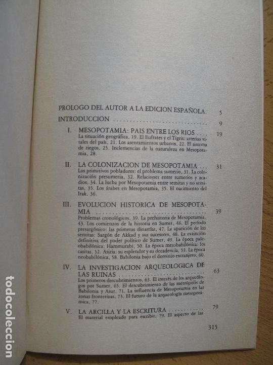 Libros de segunda mano: SOCIEDAD Y CULTURA EN LA ANTIGUA MESOPOTAMIA.- JOAWP KLIMA.- AKAL UNIVERSITARIA - Foto 3 - 103451623