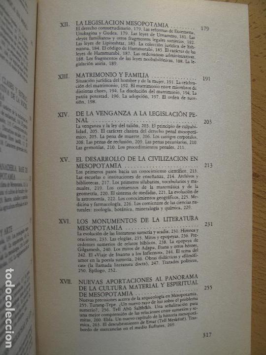 Libros de segunda mano: SOCIEDAD Y CULTURA EN LA ANTIGUA MESOPOTAMIA.- JOAWP KLIMA.- AKAL UNIVERSITARIA - Foto 4 - 103451623