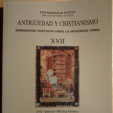 Libros de segunda mano: ANTIGÜEDAD Y CRISTIANISMO. Lote 103875179
