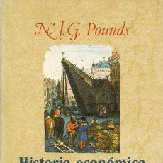 Libros de segunda mano: HISTORIA ECÓNOMICA DE LA EUROPA MEDIEVAL, N.J.G. POUNDS. Lote 103894499