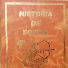Libros de segunda mano: HISTORIA DE EGIPTO, ETIENNE DRIOTON. Lote 104787619