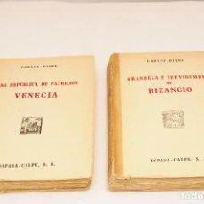 Gebrauchte Bücher - UNA REPUBLICA DE PATRICIOS VENECIA - GRANDEZA Y SERVIDUMBRE DE BIZANCIO - CARLOS DIEHL - 1943 - 105122611