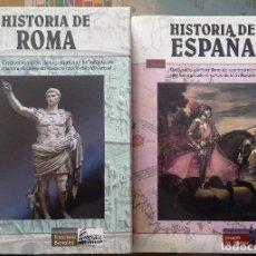 Libros de segunda mano: HISTORIA DE ROMA E HISTORIA DE ESPAÑA. Lote 106569431
