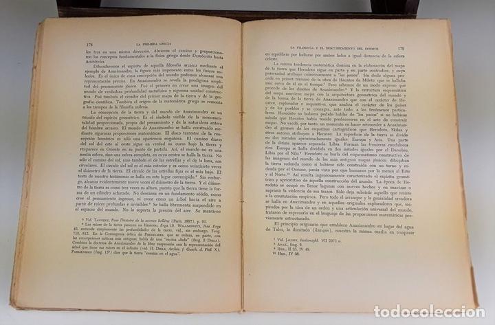 Libros de segunda mano: PAIDEIA. 3 TOMOS. WERNER JAEGER. FONDO DE CULTURA ECÓNOMICA. 2º EDICIÓN. 1946. - Foto 5 - 106994175