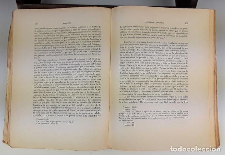 Libros de segunda mano: PAIDEIA. 3 TOMOS. WERNER JAEGER. FONDO DE CULTURA ECÓNOMICA. 2º EDICIÓN. 1946. - Foto 7 - 106994175