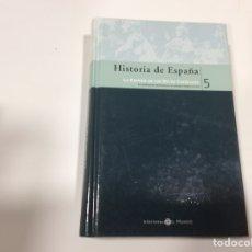 Libros de segunda mano: HISTORIA DE ESPAÑA Nº 5 LA ESPAÑA DE LOS REYES CATOLICOS / BIBLIOTECA EL MUNDO. Lote 107122927