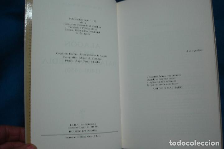 Libros de segunda mano: ALAGÓN EN LA BAJA EDAD MEDIA 1400/1450- PILAR PÉREZ VIÑUALES - INST. FERNANDO EL CATÓLICO 1988 - Foto 4 - 108796439