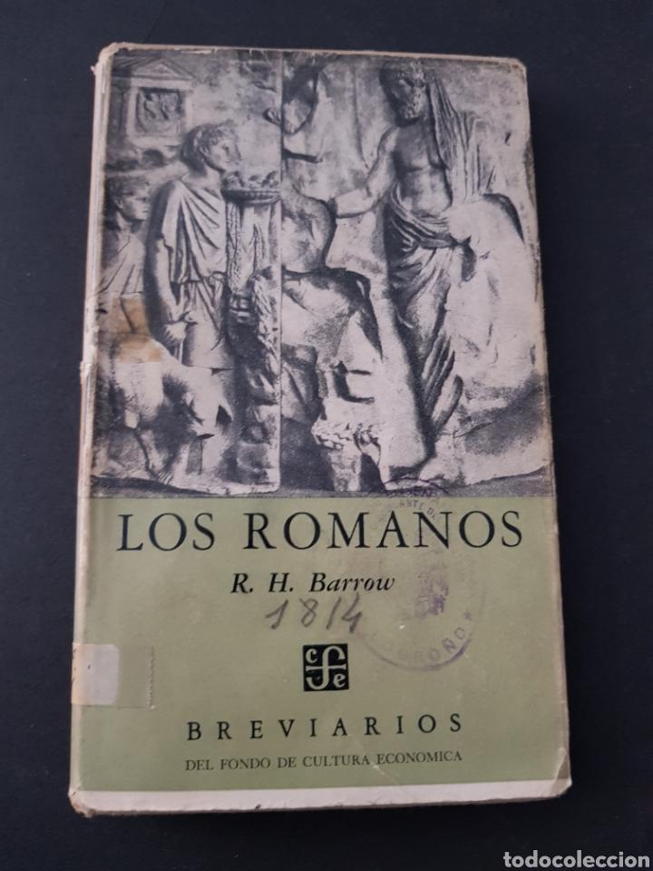 BARROW, R.H. - LOS ROMANOS - TDK161 (Libros de Segunda Mano - Historia Antigua)