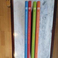 Libros de segunda mano: HISTORIA IL.LUSTRADA DE CATALUNYA PER A PETITS I GRANS. 4 VOLUMS.. Lote 110037419