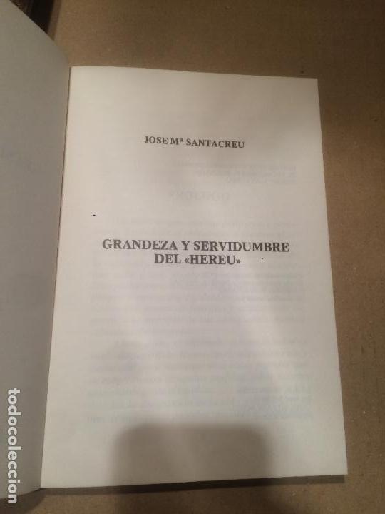 Libros de segunda mano: Antiguo libro grandeza y servidumbre del hereu año 1979 - Foto 2 - 110155755