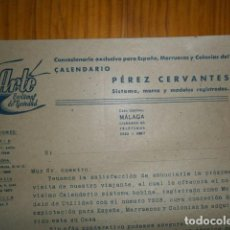 Libros de segunda mano: CALENDARIO PEREZ CERVANTES. Lote 110595551