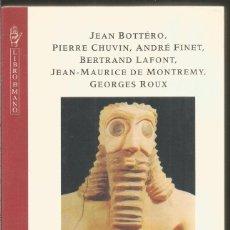 Libros de segunda mano: INTRODUCCION AL ANTIGUO ORIENTE. DE SUMER A LA BIBLIA. AA.VV. GRIJALBO MONDADORI. Lote 110755971