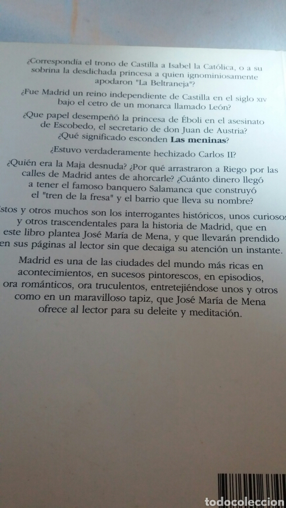 Libros de segunda mano: EPISODIOS HISTÓRICOS EN MADRID DE JOSÉ MARÍA DE MENA - Foto 2 - 110884974