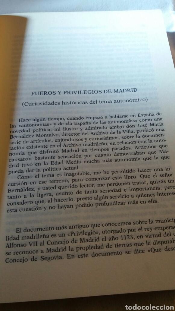 Libros de segunda mano: EPISODIOS HISTÓRICOS EN MADRID DE JOSÉ MARÍA DE MENA - Foto 6 - 110884974
