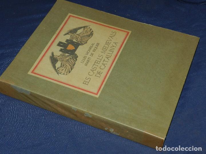 Libros de segunda mano: (M) LLUIS MONREAL , MARTI DE RIQUER - ELS CASTELLS MEDIEVALS DE CATALUNYA , BARCELONA 1958 - Foto 2 - 111151243