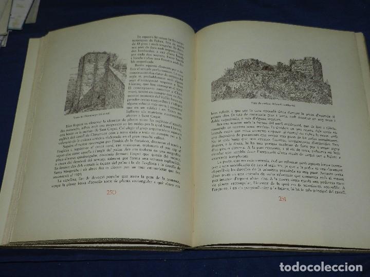 Libros de segunda mano: (M) LLUIS MONREAL , MARTI DE RIQUER - ELS CASTELLS MEDIEVALS DE CATALUNYA , BARCELONA 1958 - Foto 6 - 111151243