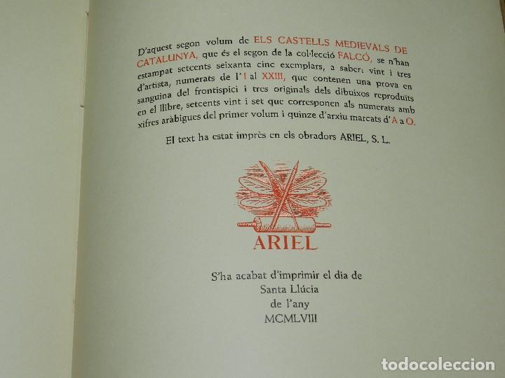 Libros de segunda mano: (M) LLUIS MONREAL , MARTI DE RIQUER - ELS CASTELLS MEDIEVALS DE CATALUNYA , BARCELONA 1958 - Foto 7 - 111151243