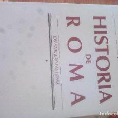 Libros de segunda mano: HISTORIA DE ROMA. ROLDÁN HERVÁS. Lote 177545209