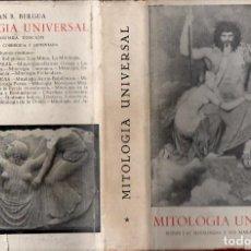 Libros de segunda mano: BERGUA : MITOLOGÍA UNIVERSAL TOMO I (TUSQUETS, 1960) TAPA DURA. Lote 111661379