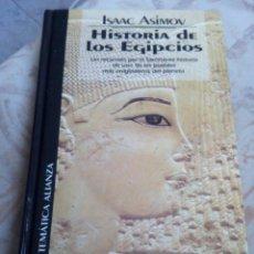 Libros de segunda mano: HISTORIA DE LOS EGIPCIOS. Lote 112034352