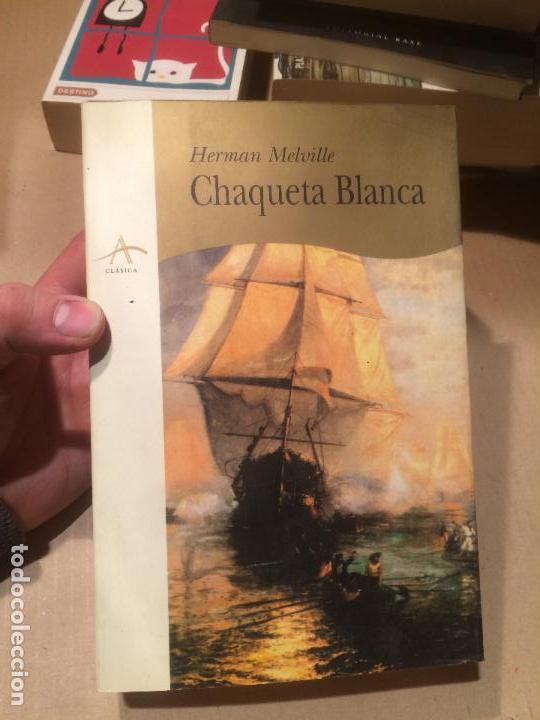 ANTIGUO LIBRO CHAQUETA BLANCA ESCRITO POR HERMAN MELVILLE AÑO 1998 (Libros de Segunda Mano - Historia Antigua)