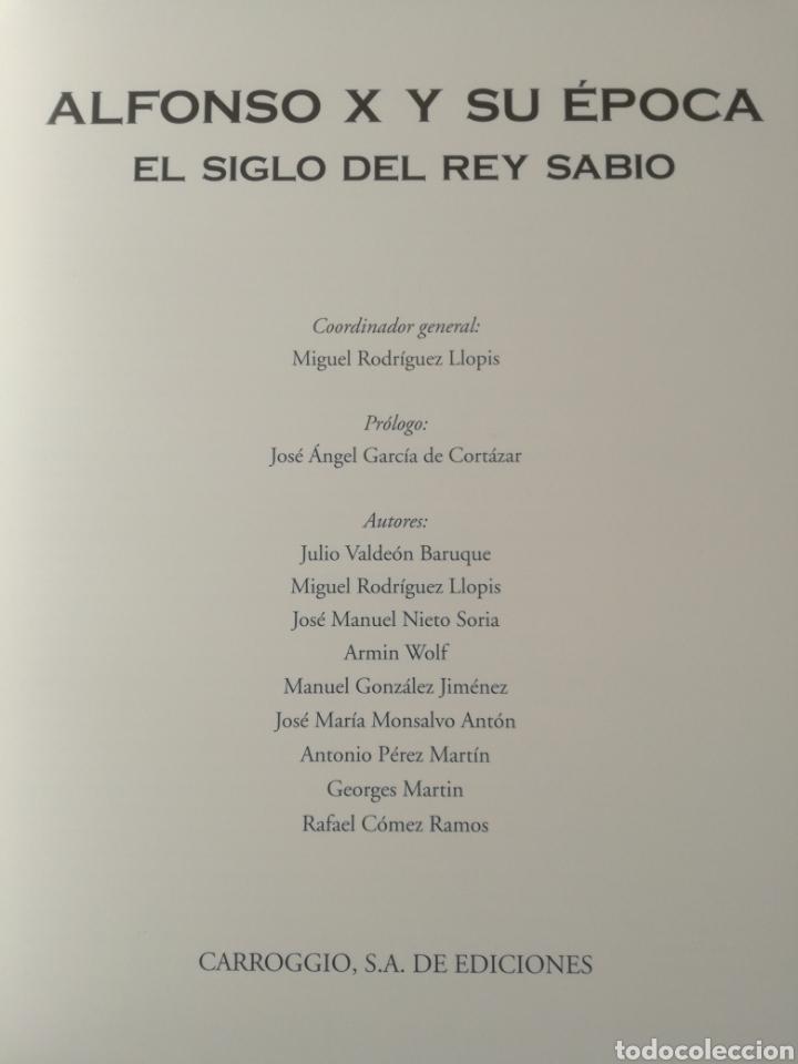 Libros de segunda mano: ALFONSO X Y SU ÉPOCA - EL SIGLO DEL REY SABIO. VARIOS AUTORES, ÁMPLIAMENTE ILUSTRADO - Foto 3 - 237805245