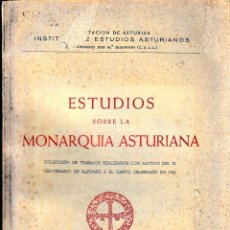 Libros de segunda mano: ESTUDIOS SOBRE LA MONARQUÍA ASTURIANA (IDEA -CSIC 1949) SIN USAR. Lote 113477075